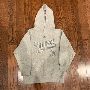 {Adidas} Yankees Hoodie, 8 (S)